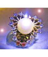 HAUNTED ANTIQUE RING MASTER KINGDOM EXTREME ILLUMINATED WORLD MAGICK SCH... - $447.77
