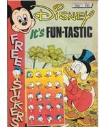 Disney Magazine #122 UK London Editions 1988 Color Comic Stories VERY FINE - $10.69