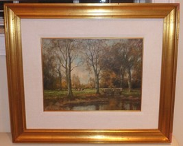 Listed Dutch Artist Willem Hendriks (1888 - 1966) Framed Oil Painting on... - $999.00