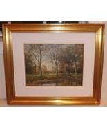 Listed Dutch Artist Willem Hendriks (1888 - 1966) Framed Oil Painting on... - $999.00