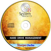Nuovo & Nave Veloce! Sistema Rescue CD - Riparazione/Ripristino Hard Dri... - $11.71