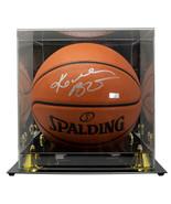 Kobe Bryant Lakers Signed Spalding Replica Basketball w/ Case Panini PA3... - $5,939.99