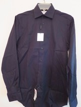 Calvin Klein Men's Size 14-1/2, 32/33 Black Dress Shirt Formal 60% OFF New w/Tag - $27.52
