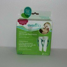 New EvenFlo-Advanced Milk Storage Bag adapters-2 pack - $9.89