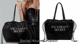 Nwt Victoria's Secret Luxe Velvet Tote - $28.04