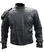 Star Lord Guardians Galaxy Volume 2 Chris Pratt Quill Black Leather Jacket - $76.00