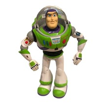 "RARE THINKWAY TOY STORY 3 ULTIMATE BUZZ LIGHTYEAR 16"" PROGRAMMABLE ROBOT... - $140.25"