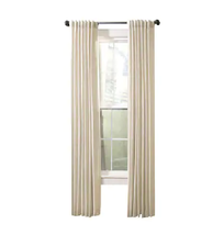 allen + roth Evington 84-in Linen Cotton Light Filtering Single Curtain ... - $24.74