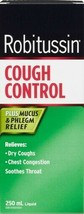 ROBITUSSIN Cough Control Extra Strength Plus Mucus & Phlegm Relief 250ml... - $23.04
