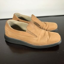 Bally Rolamo model Men's Shoes Size 10 D. Tan Leather. Made in Italy. Nice! - $42.57
