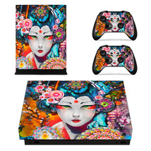 Floral girl Decal Xbox one X Skin for Xbox Console & 2 Controllers - $15.00