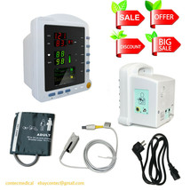 CMS5100 multi-parameter Vital Signs ICU Patient Monitor NIBP SPO2 Pulse ... - $197.01