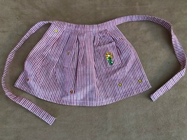 Apron (bejeweled) Kirsten striped meet outfit replacement American Girl ... - $10.50