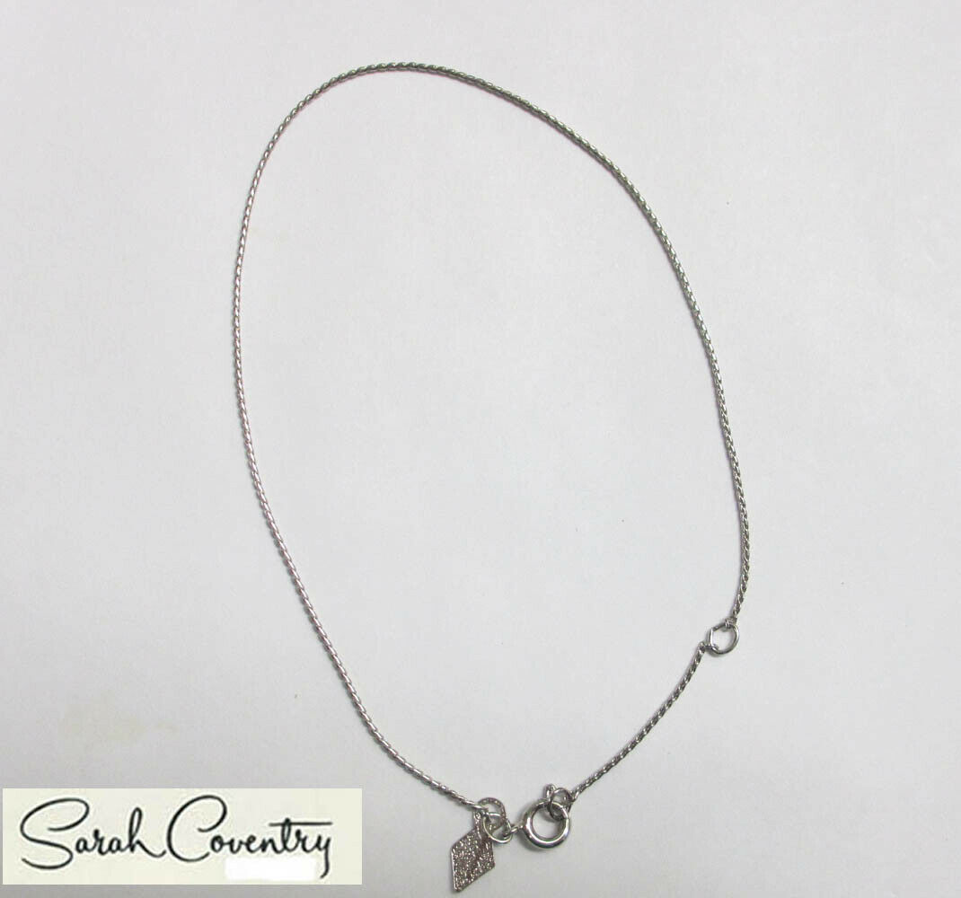 Vintage Sarah Coventry  Jewelry - #9081  Ankle Bracelet