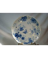 "Lenox Butterfly Meadow Toile Blue Dinner Plate 11"" New - $20.69"