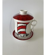 Dr Seuss Cat in The Hat Tea Cup with Lid, Infuser, and Saucer  - $25.99