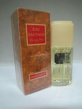 EAU SAUVAGE By Christian Dior Eau De Toilette Spray 1 Fl oz/30 ml Sealed... - $59.39