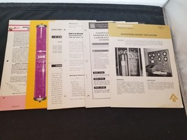 Lot Of 6 1950-60s Industrial Bulletins For Rockets, Lab Ovens, Filtratio... - $38.72