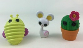 Lalaloopsy Cactus Mouse Firefly Doll Pet 3pc Lot Toy Accessory MGA Replacement - $15.99