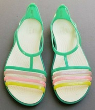 Crocs Isabella  Flat Sandals Island Green  US 10  - $29.55