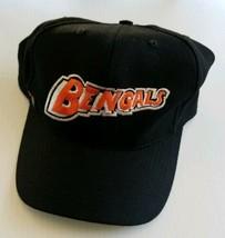 Cincinnati Bengals Team NFL Vintage Fitted 100% Wool Hat 7 1/2 Black 199... - $39.48