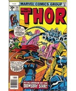 The Mighty Thor Comic Book #261 Marvel Comics 1977 FINE+ - $4.75