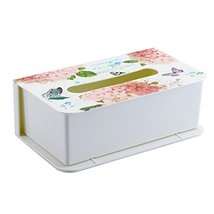 Kylin Express Country Style Tissue Box Tissue Paper Holder Cover Facial ... - $29.32