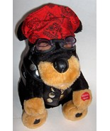 "Chantilly Lane Plush Chopper Dog Sings Born to Be Wild --- 10"" Chopper -... - $33.00"