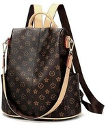 Olyphy Designer Waterproof Leather Nylon Backpack Purse Women, Fashion ... - $67.73