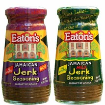 Eaton's Jamaican Hot and Mild Jerk Seasoning 11 Ounce (Pack of 2) - $19.79