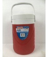 Coleman Red 1 Gallon Water Jug W/ Twist-On Lid Wide Mouth #3000000731; 6001 - $13.26