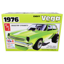 Skill 2 Model Kit 1976 Chevrolet Vega Funny Car 1/25 Scale Model by AMT ... - $47.87