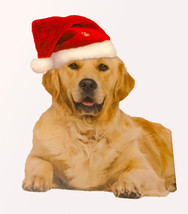 Dog Santa Hat Christmas Pet Apparel w/ elastic chin strap Outward Hound - $11.99+