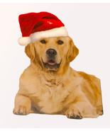 Dog Santa Hat Christmas Pet Apparel w/ elastic chin strap Outward Hound - $11.99