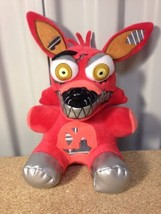 "6"" Nightmare FOXY RED Fox Five Nights At Freddy's Plush Toy Funko Series... - £13.14 GBP"