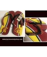 USC So Cal University Trojans Women's Flip Flops Sandals Shoes Many Sizes - $9.99