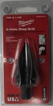"""MILWAUKEE 48-89-9135 7/8"""" - 1 1/8"""" 2 Step Hole Black Oxide Step Drill Bit USA - $33.66"""