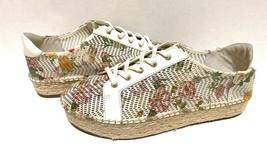 Vince Camuto Women's Joellan Floral Lace-Up Espadrille Sneaker White Size 8 - $69.29
