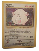 Pokemon Card - Chansey - (3/102) Base Set Rare Holo ***NM*** - $9.99