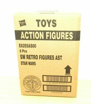 STAR WARS THE RETRO COLLECTION SEALED CASE NEW FIGURES FIRST WAVE RARE S... - $120.62
