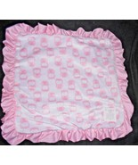 Carters Child of Mine Little Blanket of Mine Security Lovey Pink Owl Min... - $39.56