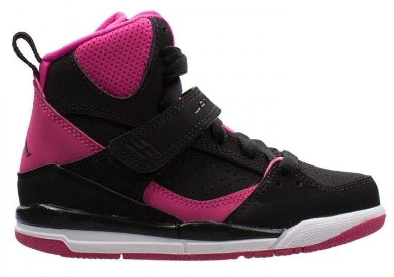 "New Nike JORDAN FLIGHT 45 HI GP sz: 3Y (US 5) ""Vivid Pink"" kids youth 524863-008"