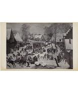 1930 P Bruegel II dit d'Enfer La Massacke des Innocents Post Card #39 - $3.14