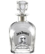 Jack Daniel's Licensed Barware Cameo Logo Square Decanter, Made in Italy - $49.49