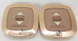 L'Oreal Glam Beige Healthy Glow Powder *Medium Dark*Twin Pack* - $12.99