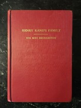 Henry Rand's Family by Ida May Broughton, inscribed first edition. Rare - $124.89