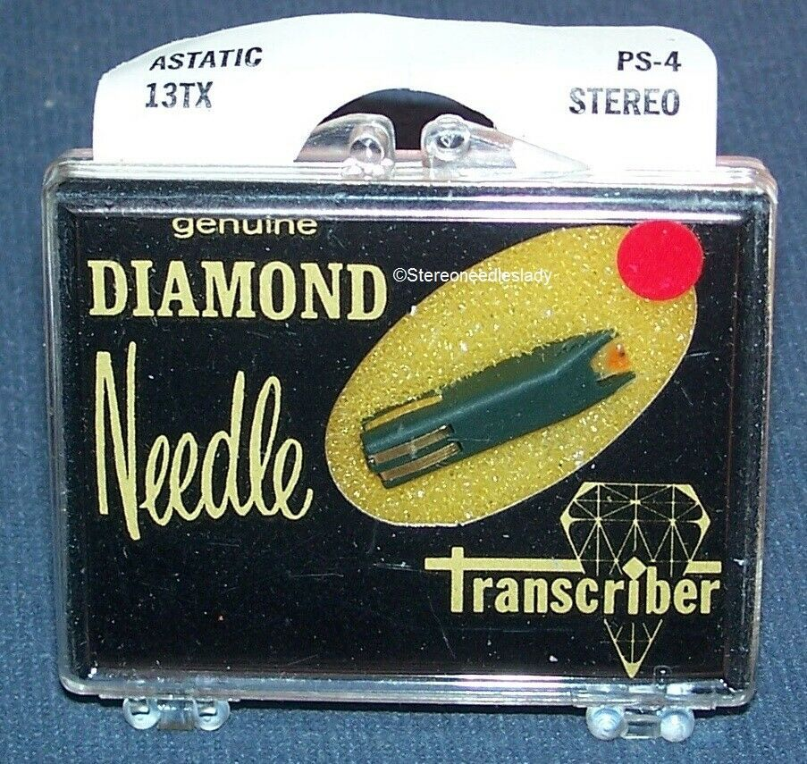 STEREO NEEDLE CARTRIDGE FOR Astatic 13TX 13T 13TB EV 13 13D 33 45 & 78 RPM