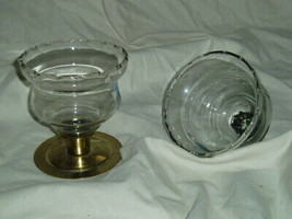 Home Interiors Short Wheat Etched Votive Cups Homco - $10.00