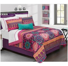 Aiyana 2pc Twin Quilt Set Colorful Safdie and Co - $22.98