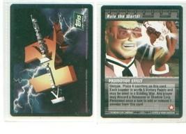 Killer Instinct Card Game Rule The World Promo Card Ccg - $8.00